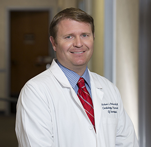 Dr. Michael Babcock, cardiologist with Cardiology Associates of Savannah and director of the Chest Pain Center at The Heart Hospital at St. Joseph's/Candler
