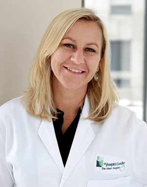 Dr. Kristy Wiebke, vascular surgeon with St. Joseph's/Candler – Vascular Specialists