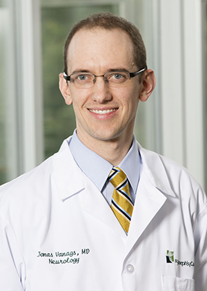 Dr. Jonas Vanags, neurologist with St. Joseph's/Candler Physician Network – Neurology