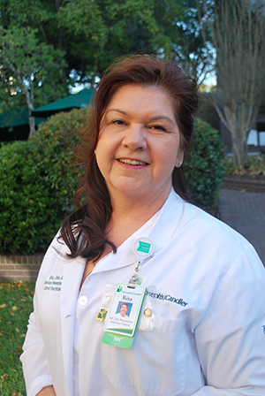 Rita Allen, infection control nurse