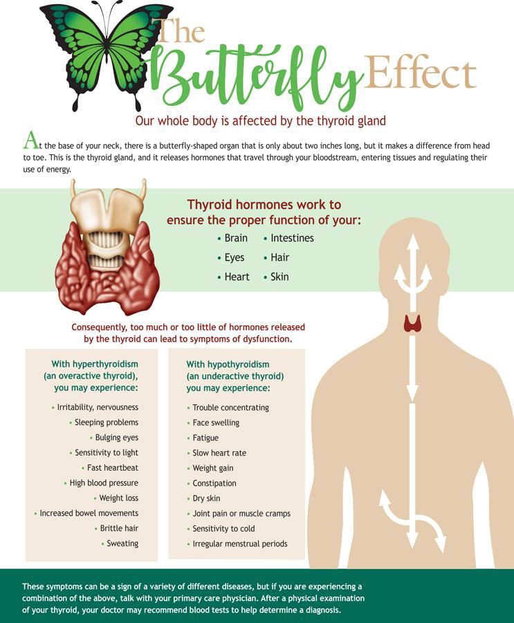 Infographic Thyroid Gland Smart Living St Joseph Amp 39 S